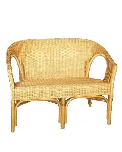 Noleggio divano in vimini per esterni punto noleggio - Divano in vimini ...