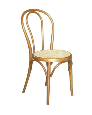noleggio sedia thonet in legno color noce