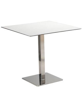 Tavolo Bar Bianco Quadrato