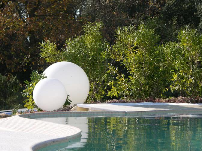 Noleggio lampada globo grande di slide punto noleggio