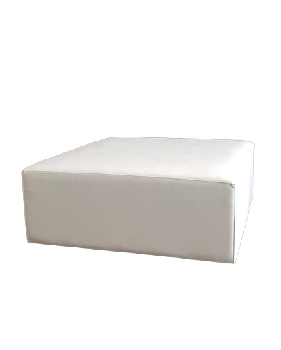 noleggio pouf per divano modulare ignifugo