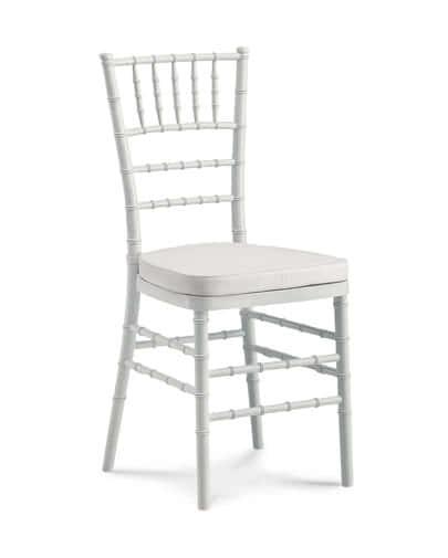 noleggio sedia chiavarina bianca