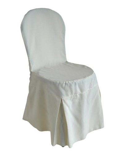 noleggio sedia vestita bianco