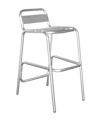 Sgabello Seduta in Alluminio
