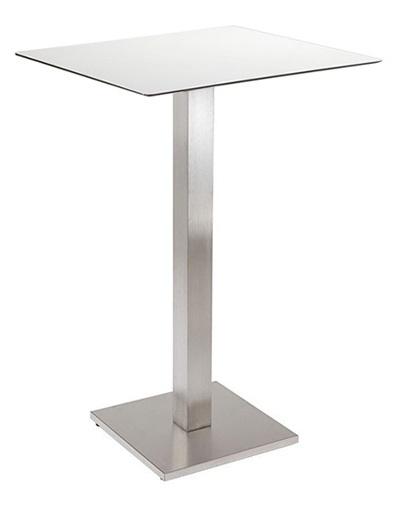 Tavolino Alto Quadrato per Bar