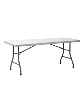 noleggio tavolo catering rettangolare in plastica
